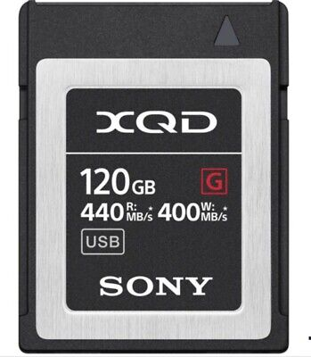 $ CDN271.77 • Buy Sony 120GB 440MB/s XQD G Series Memory Card + XQD CARD READER
