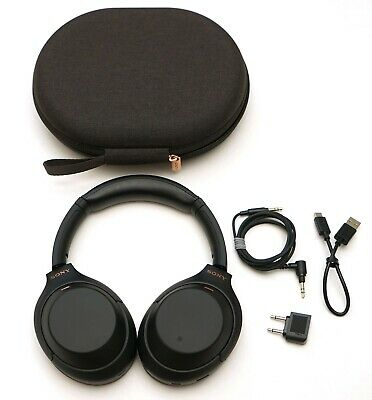 $ CDN291.78 • Buy Sony Wh-1000xm4 Wireless Noise Cancelling Stereo Headphones Black Wh-1000xm4/b