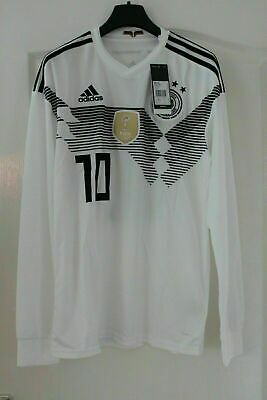 Adidas Germany Shirt World Cup 2014 No10 Size S - BNWT • 32£