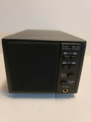 ICOM SP23 SPEAKER VERY NICE WORKS!  For Use With IC R75 Ham Radio • 36.90£
