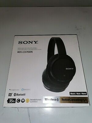 Sony WH-CH700N Over The Ear Bluetooth Headphones - Black • 70£
