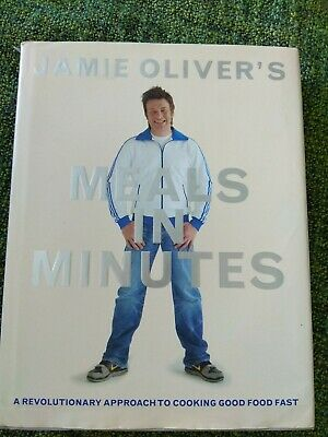 AU35 • Buy Jamie Oliver - Meals In Minutes - Hardcover - Good Food Fast
