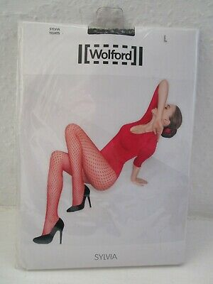 WOLFORD SYLVIA Black Tights L BNWT • 20£