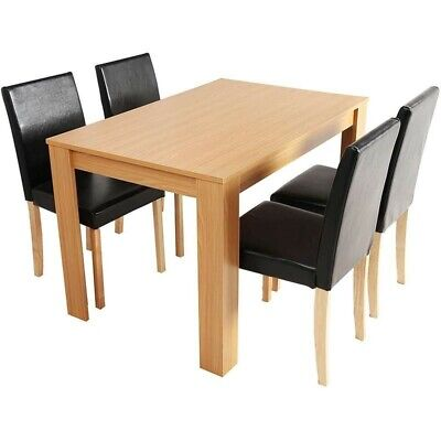 Furniture 3-Piece Dining Room Set 2-Seater Dining Table With 2 Chairs BRAND NEW • 120£
