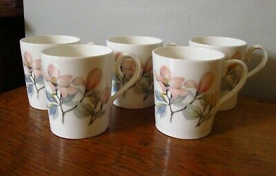 £10 • Buy 5 Elegant Ridgway Ophelia Coffee Cups And 1 Saucer Very Good Condition