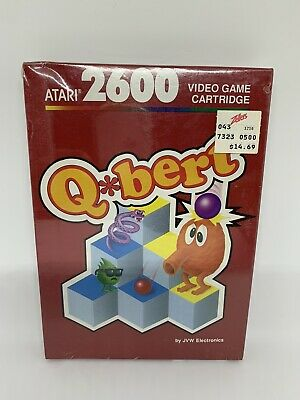 $ CDN158.57 • Buy Atari 2600 Q*Bert Factory Sealed Video Game 1988 QBert Q-Bert Brand New