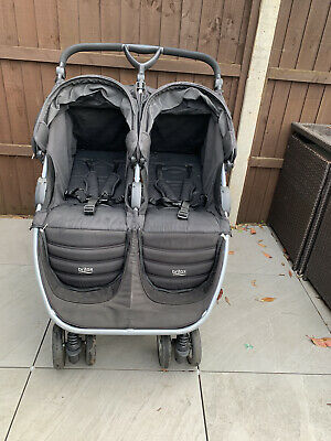 * BRITAX ROMER B-Agile Black Double Twin Pram Buggy Pushchair Birth To 4 Years * • 50£