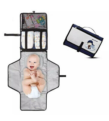 AU18.53 • Buy Travel Diaper Changing Lightweight Portable Pad Baby Accessories