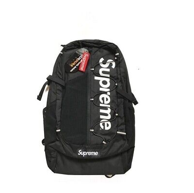 $ CDN4.12 • Buy Hot NEW Supreme 21ss Backpack Waterproof Box Logo Mountaineering Bags Travel