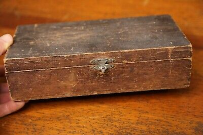 £50.61 • Buy Antique Hinged Wooden Cigar Box With Latch Thirty Eight Southern Limited Havana