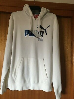 AU15 • Buy Men's Puma Hoodie Pullover With Pouch Pocket - Size XL