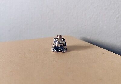 AU50 • Buy Authentic Pandora Silver And 14ct Gold Frog Prince Charm Retired