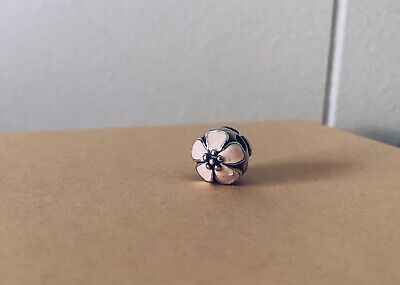 AU30 • Buy Authentic Pandora Silver Pink Cherry Blossom Charm Retired