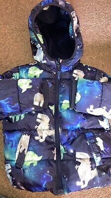 Boys Dinosaur Coat 3-4 Years Old • 1£