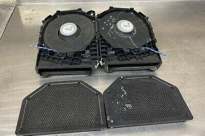 Bmw 1 Series E81 E87 Pair Of Floor Bass Speakers & Grill 9143986 9143233 6925328 • 15£