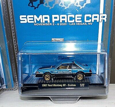 $79.99 • Buy M2 2020 SEMA Exclusive CHASE 1987 Ford Mustang GT Custom Pace Car FOX 300
