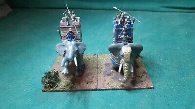 1:72 War Elephants Ancient Wargames Painted Plastic Toy Soldiers  • 22.99£