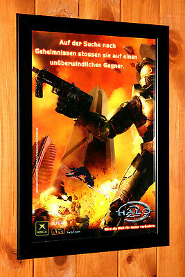 £36.57 • Buy 2004 Halo 2 Xbox Xbox One Xbox 360 Old Promo Poster / Ad Page Art Framed