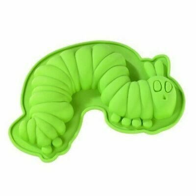 The Very Hungry Caterpillar Cake Bake Jelly Silicone Mould.German. Eric Carle • 19.99£
