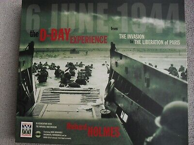£7 • Buy The D-Day Experience - War Time Book By Richard Holmes With Audio CD & Documents