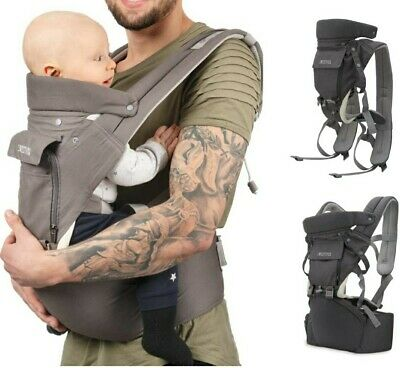 Sweety Fox - Multi-Position Baby Carrier With Hip Seat - For Babies & Child From • 5£