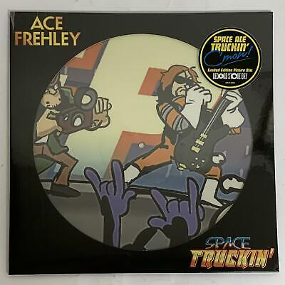 """£14.99 • Buy Ace Frehley – Space Truckin' Black Friday Picture Disc 12"""" Vinyl Single (sealed)"""