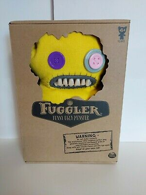 "$ CDN30.44 • Buy  FUGGLER SPIN MASTER FUNNY UGLY MONSTER PLUSH YELLOW 9"" New In Box"