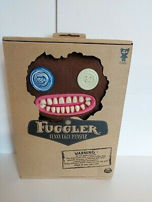 "$ CDN30.44 • Buy  FUGGLER SPIN MASTER FUNNY UGLY MONSTER PLUSH BROWN 9"" New In Box"