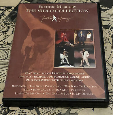 £12.99 • Buy Freddie Mercury - The Video Collection (DVD, 2000) With Booklet Queen ML