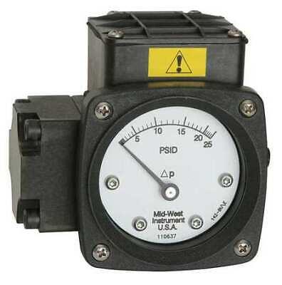 $325.92 • Buy MIDWEST INSTRUMENT 142-AA-00-O(AA)-20P Pressure Gauge,0 To 20 Psi