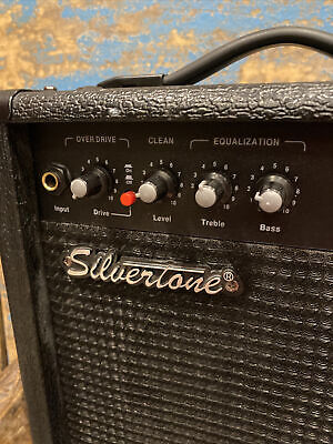 $ CDN45.95 • Buy Silvertone Smart IIIs Portable Guitar Amplifier 26 Watts Small Black Amp 11 X11