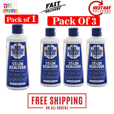 £9.52 • Buy UK Bar Keepers Friend Multi Surface Household Cleaner Stain Remover Powder 250g