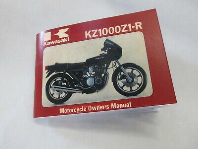 AU33.53 • Buy New High Quality Reproduction Kawasaki Owners Manual 1980 KZ1000 Z1-R Z1R D3