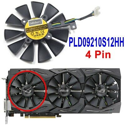 $ CDN16.28 • Buy Cooler Fan For ASUS Strix GTX 980Ti GTX 1060 1080 1070 RX 480 580 VEGA64 VEGA56