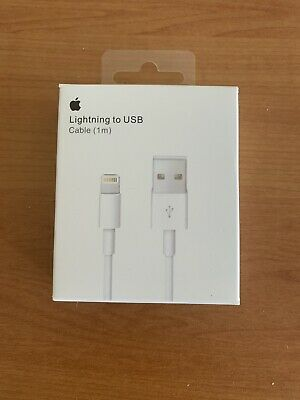 AU12.49 • Buy Apple 1m Lighting Charger Cable For IPhone And IPad - White 6 7 8 X Max 11