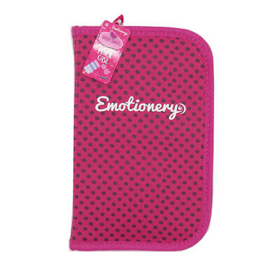 £6.95 • Buy Berry Sweet Polka Dot Multi Compartment Zip Pencil Case