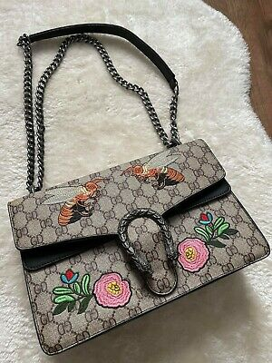 £25 • Buy Embroidered Chain Cross Body Shoulder Bag