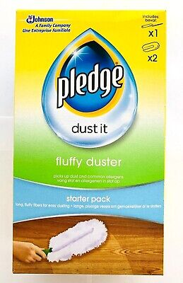£5.99 • Buy Pledge Duster Starter Kit - Picks Up Dust, Dirt And Lint With A Few Effortless
