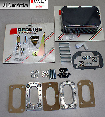 $ CDN102.72 • Buy Universal Weber DGV Install Kit With Linkage, Adapter, Air Filter - See Listing