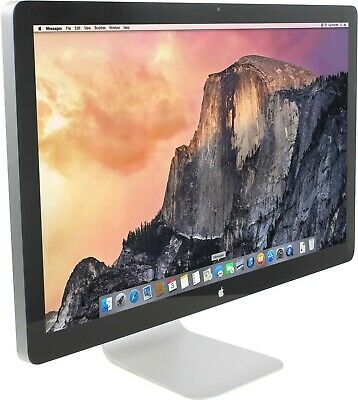 £1773.91 • Buy Apple 27  Thunderbolt Monitor A1407 LCD Widescreen 2560 X 1440 Display