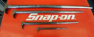 AU206.27 • Buy Snap On Tools 4 Pc Rolling Head Prybar/Alignment Tool Set PBS704
