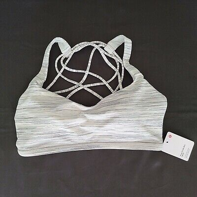 $ CDN41.25 • Buy Lululemon Free To Be Wild Bra Size 12 Space Dye Camo White Silver LAST ONE! NWT