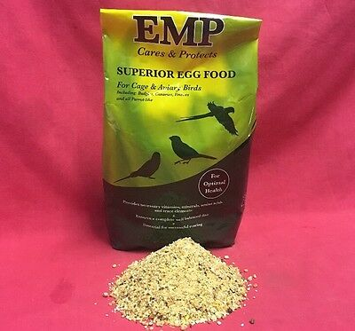 £3.99 • Buy Emp Superior Rearing Egg Food Budgie Canary Parakeet Optimal Health 100g ONLY