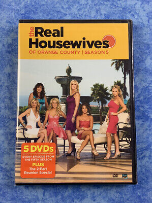 £12.77 • Buy The Real Housewives Of Orange County: Season 5 (DVD, 2011, 5-Disc Set)