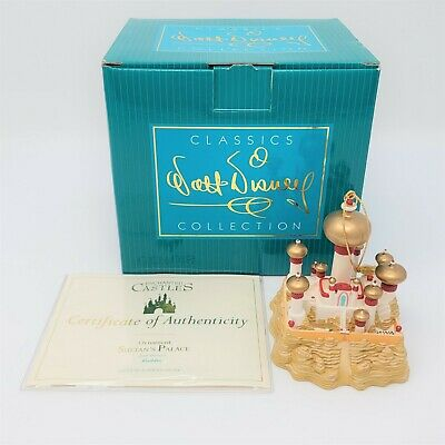 $ CDN194.25 • Buy WDCC Enchanted Castles Sultans Palace Ornament From Disney's Aladdin + COA & Box