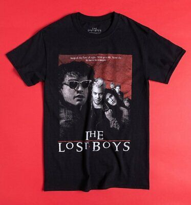 £16.99 • Buy Official Black The Lost Boys Movie Poster T-Shirt