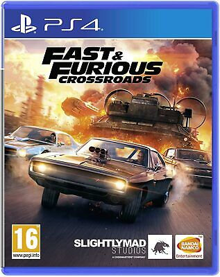 £15.99 • Buy Fast & Furious Crossroads Ps4 Playstation 4 Pal Uk New And Sealed