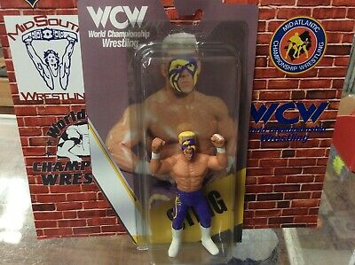$ CDN87.47 • Buy Custom Galoob WCW NWA Sting Figure With Custom Package Wrestling Figure
