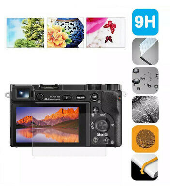 $ CDN3.39 • Buy 9H Tempered Glass Camera Screen Protector For Sony A6400 A6300 A6000 A6600