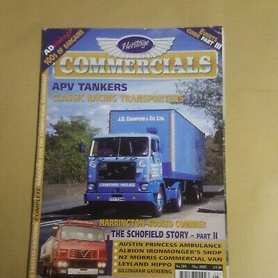 £1.55 • Buy Heritage Commercials Magazine Issue 185 May 05